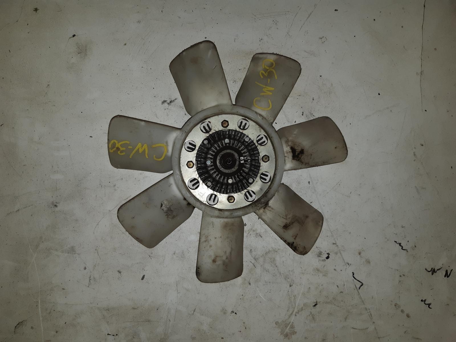 Вискомуфта с вентилятором Nissan Largo NCW30 KA24 (б/у)