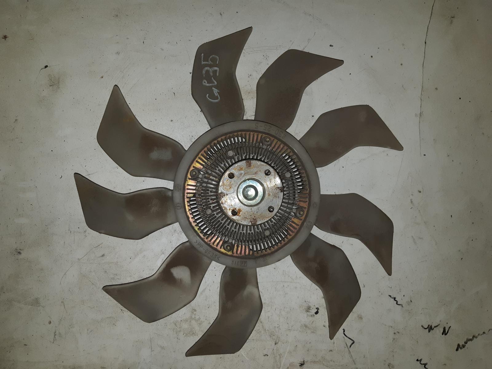 Вискомуфта с вентилятором Nissan Cedric ENY35 (б/у)