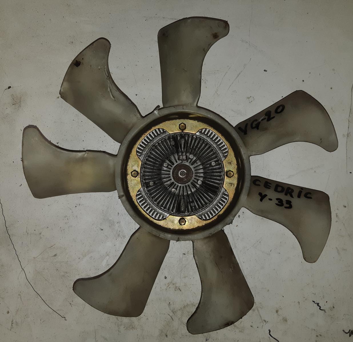 Вискомуфта с вентилятором Nissan Cedric ENY33 (б/у)