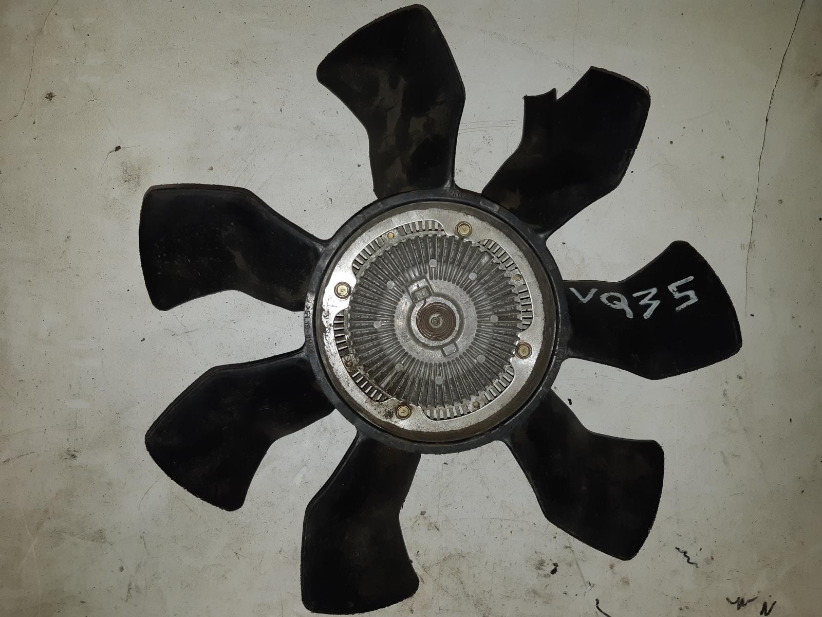 Вискомуфта с вентилятором Nissan VQ35DE (б/у)