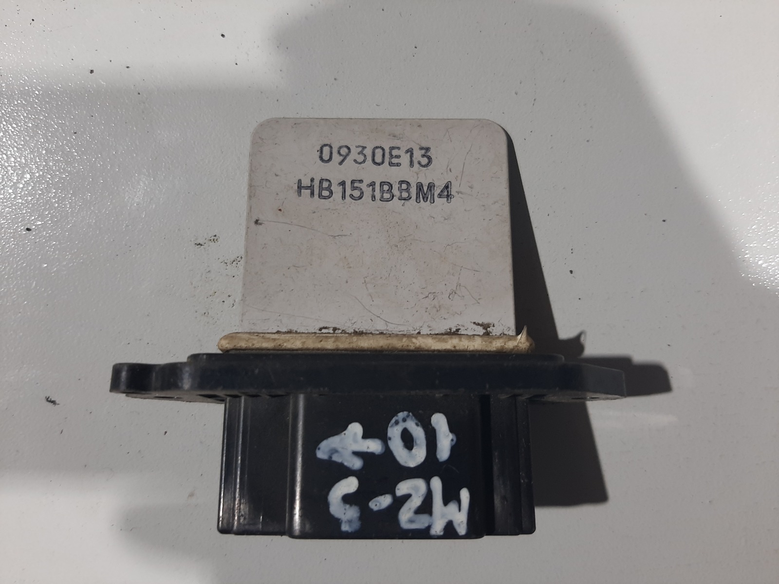 Реостат отопителя Mazda 3 BL (б/у)