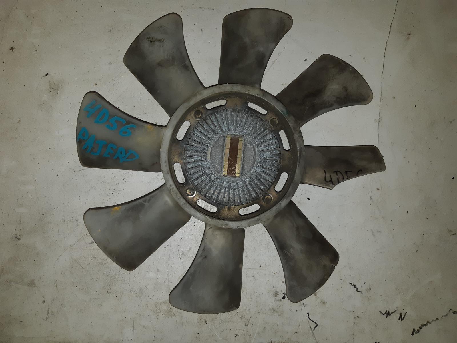 Вискомуфта с вентилятором Mitsubishi Pajero 4D56 (б/у)