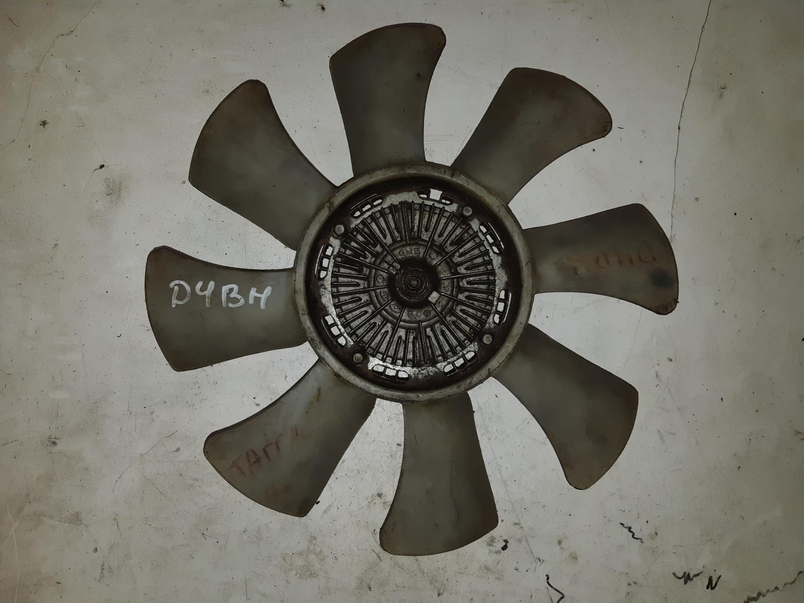 Вискомуфта с вентилятором Hyundai/kia HP D4BH (б/у)