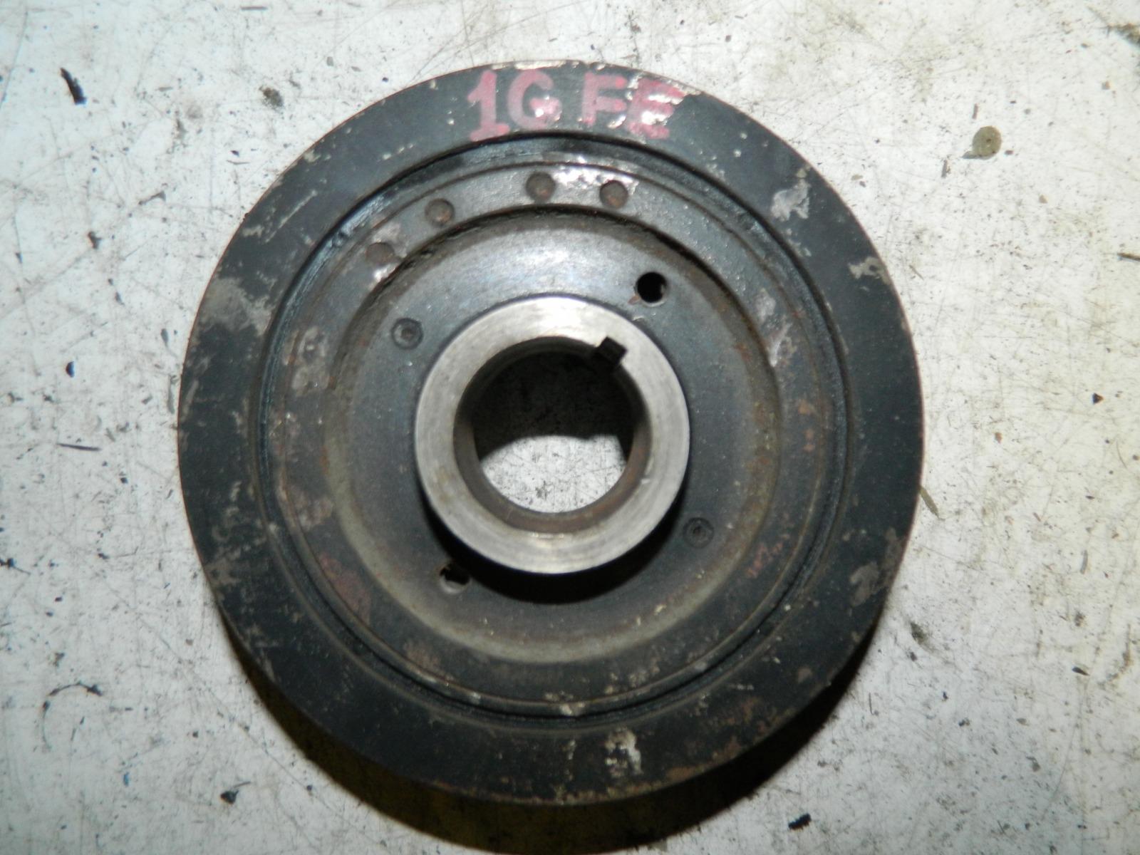 Шкиф коленвала Toyota Mark 2 GX100 1G-FE (б/у)
