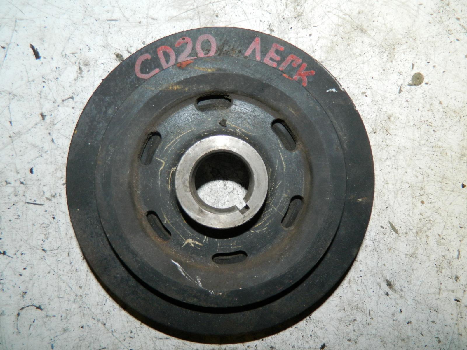 Шкиф коленвала Nissan Avenir VSW10 CD20 (б/у)