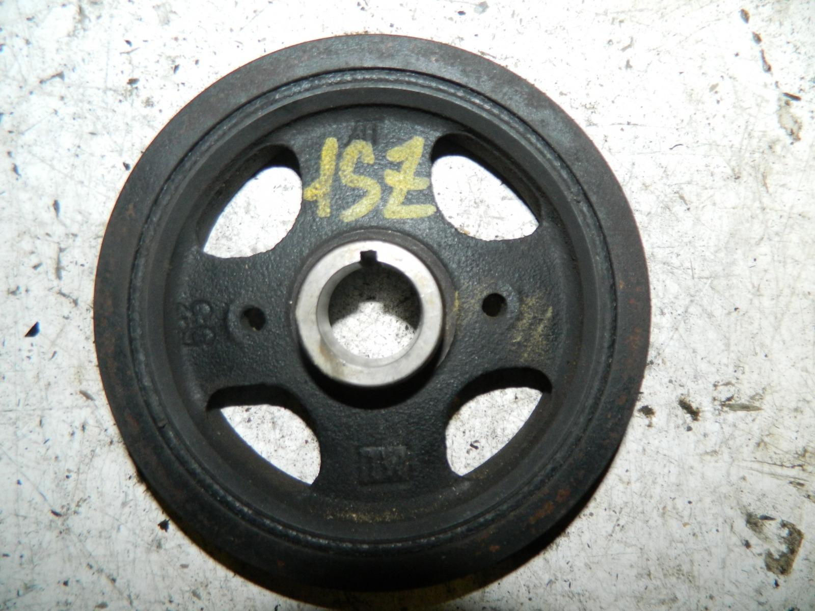 Шкиф коленвала Toyota Platz SCP10 1SZ-FE (б/у)