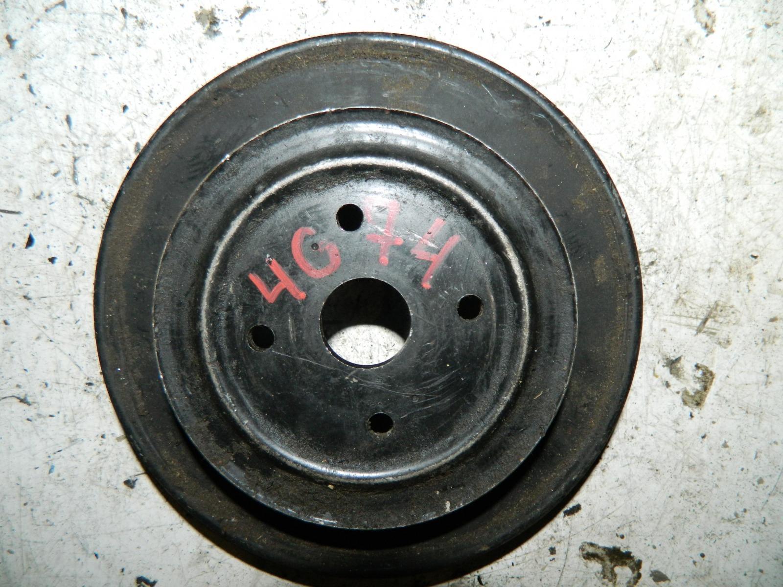 Шкив коленвала Mitsubishi Pajero 6G74 (б/у)