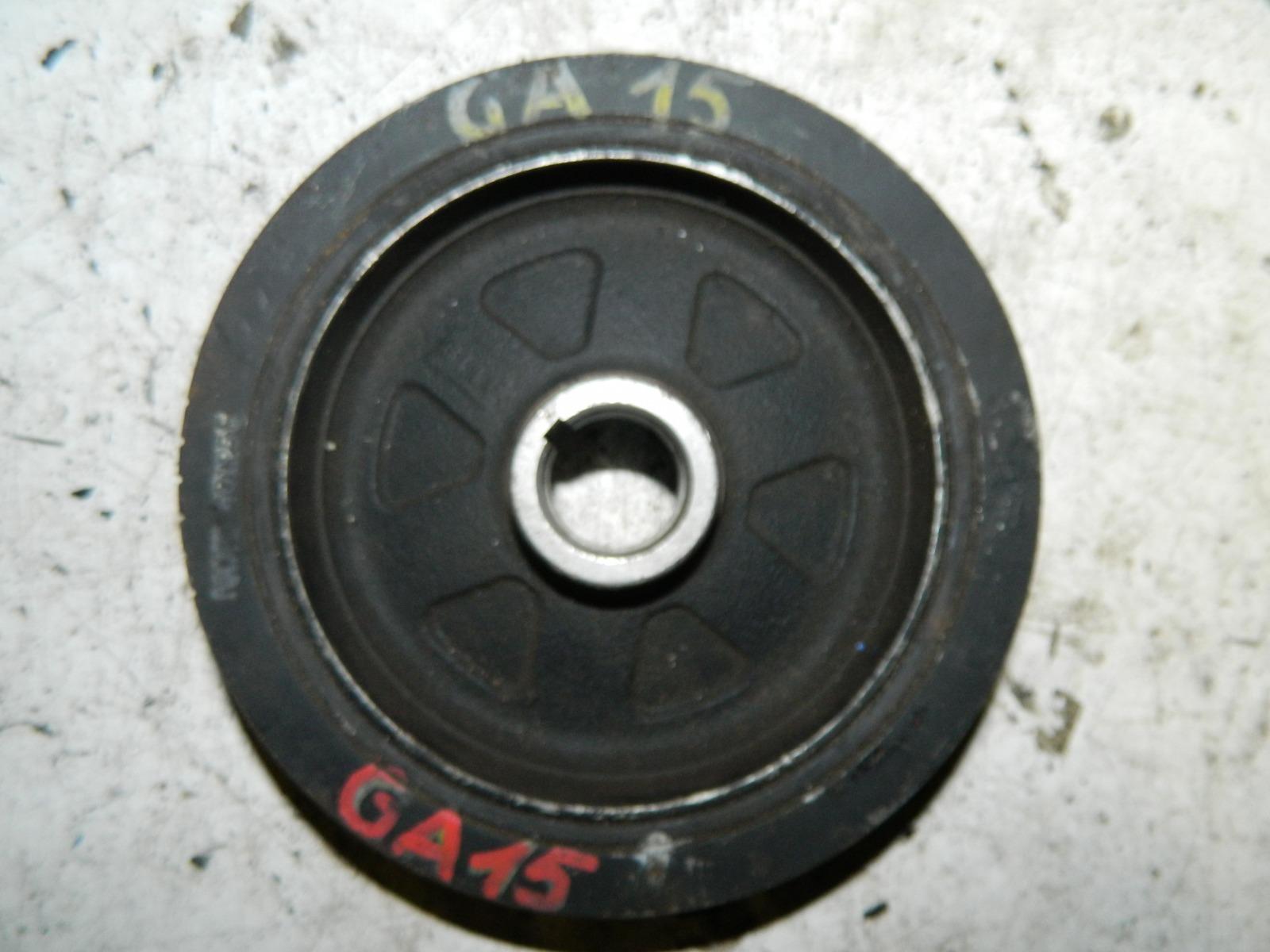 Шкив коленвала Nissan Wingroad WFY10 GA15 (б/у)