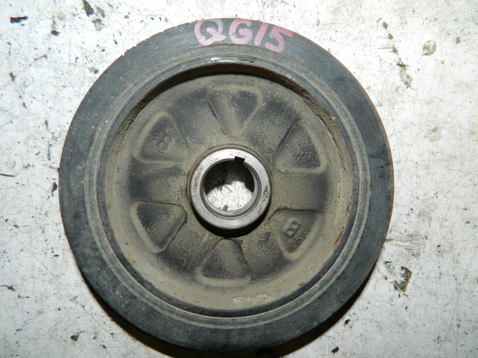 Шкиф коленвала Nissan Bluebird EU14 QG15DE (б/у)