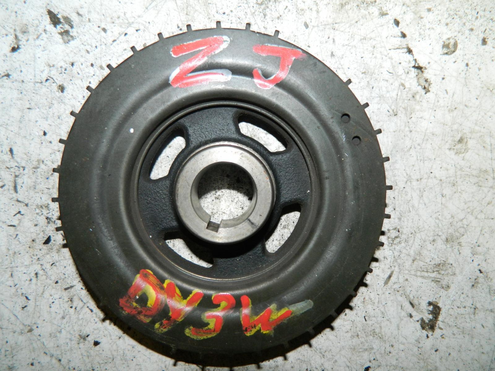 Шкиф коленвала Mazda Demio DY3W ZJ-VE (б/у)