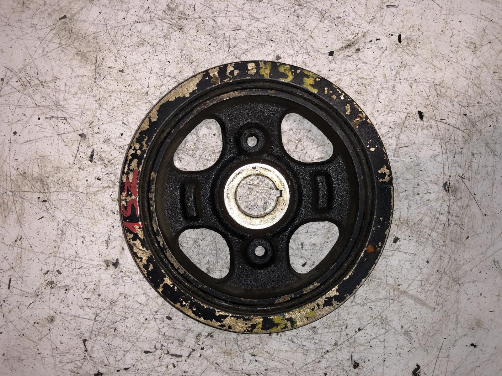 Шкив коленвала Toyota Platz SCP10 1SZ-FE (б/у)