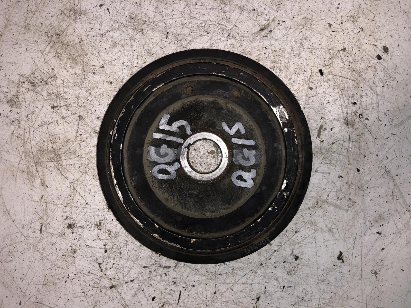 Шкив коленвала Nissan Sunny B15 QG15DE (б/у)