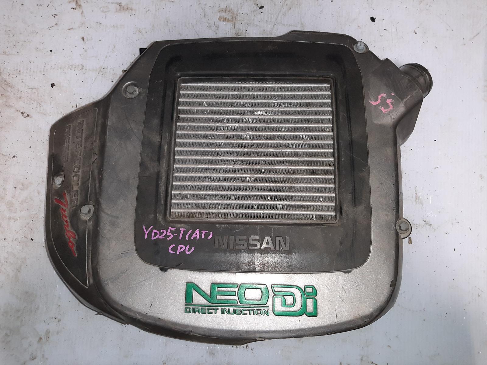 Интеркулер Nissan Serena VC24 YD25 (б/у)