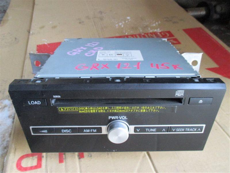 Магнитофон Toyota Mark X GRX121 (б/у)