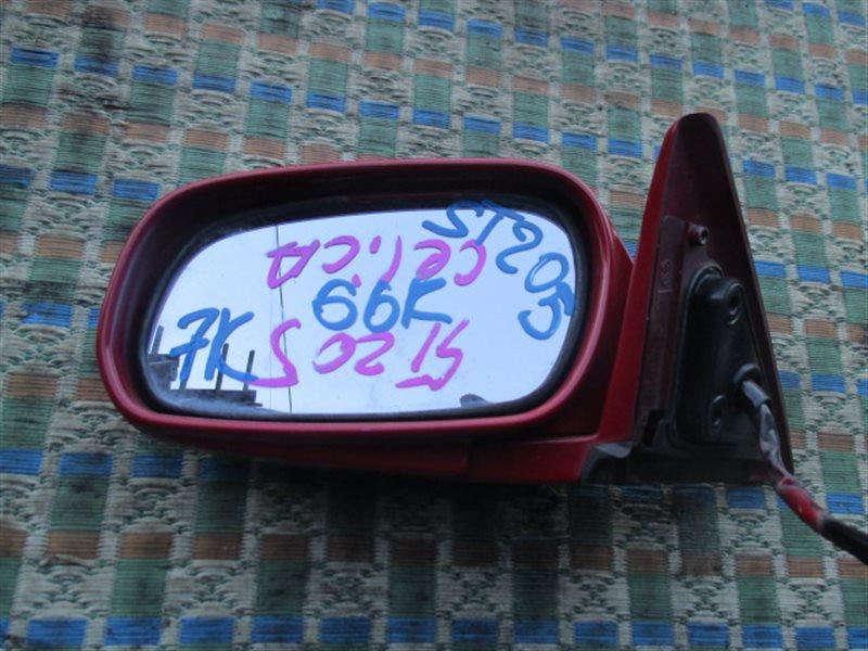 Зеркало Toyota Celica ST205 левое (б/у)