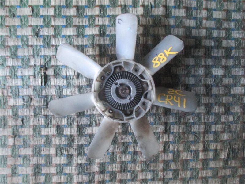Вентилятор с вискомуфтой Toyota Noah CR41 2C (б/у)