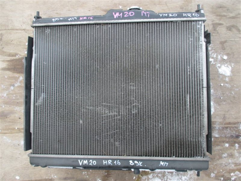 Радиатор основной Nissan Nv200 VM20 HR16-DE (б/у)