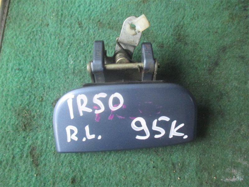 Ручка двери внешняя Nissan Terrano R50 задняя левая (б/у)