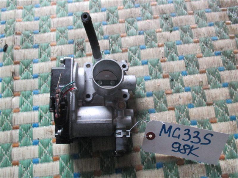 Дроссельная заслонка Nissan Moco MG33S R06A (б/у)
