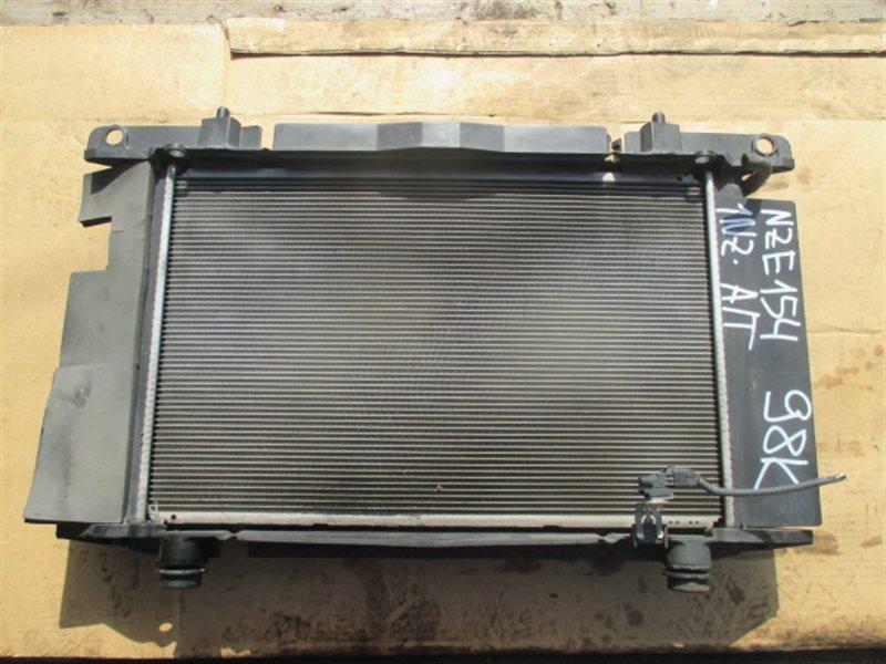 Радиатор основной Toyota Auris NZE154 1NZ-FE (б/у)