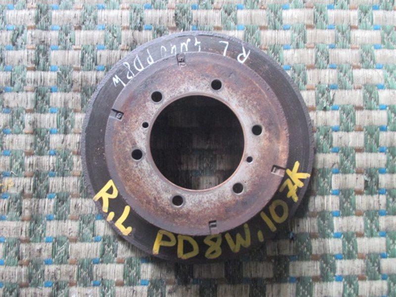 Тормозной диск Mitsubishi Delica PD8W задний левый (б/у)