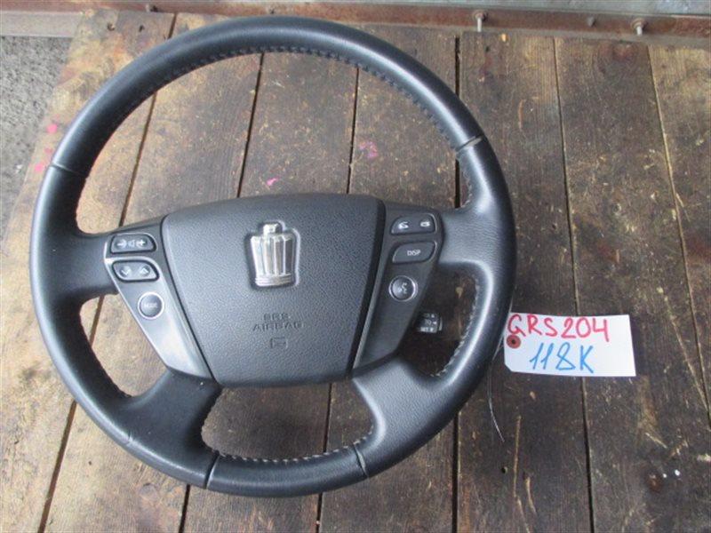Руль с airbag Toyota Crown GRS204 (б/у)
