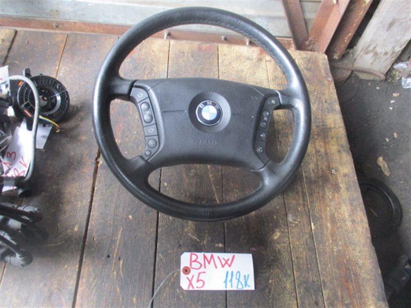 Руль с airbag Bmw X5 E53 2001 (б/у)