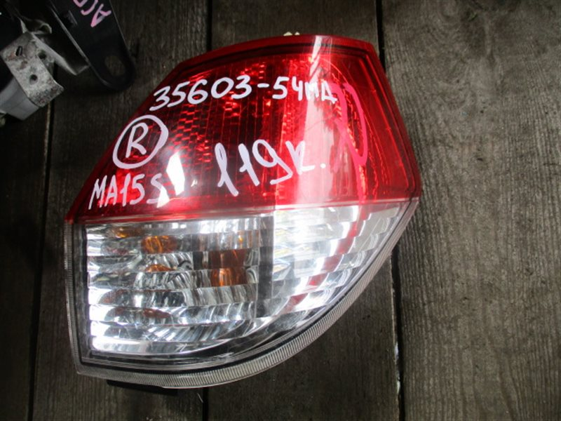 Стоп-сигнал Suzuki Solio MA15S правый (б/у)