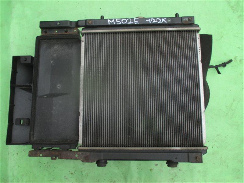 Радиатор основной Toyota Passo Sette M502E 3SZ-VE (б/у)