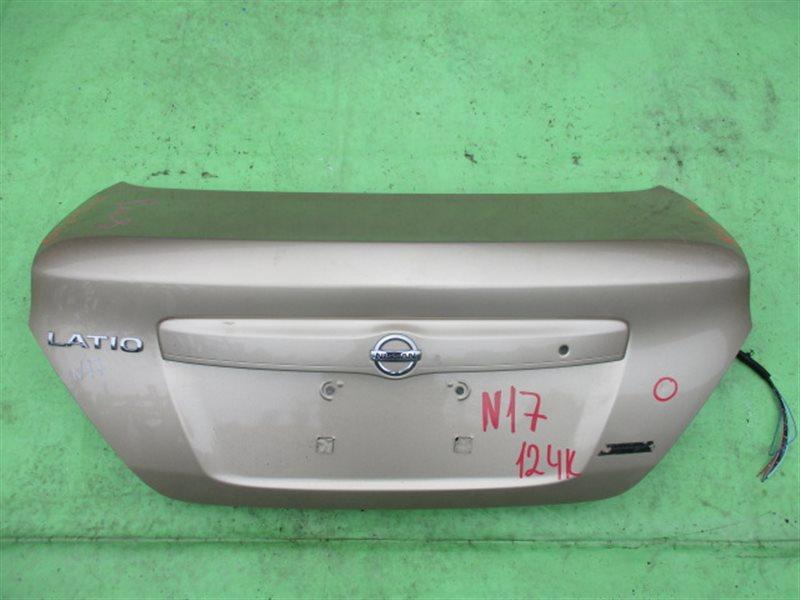 Крышка багажника Nissan Latio N17 (б/у)