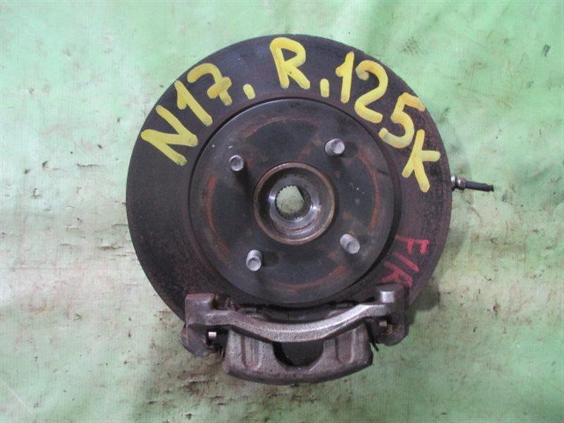 Ступица Nissan Latio N17 передняя правая (б/у)