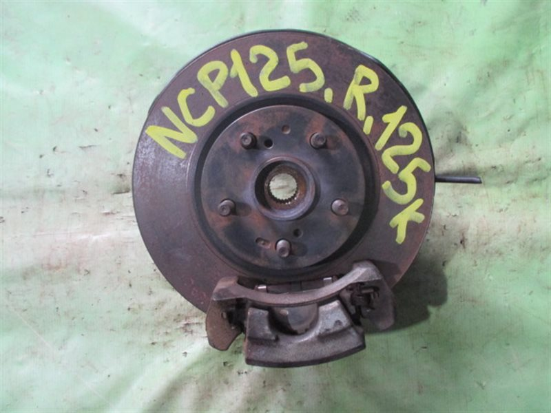 Ступица Toyota Ractis NCP125 передняя правая (б/у)