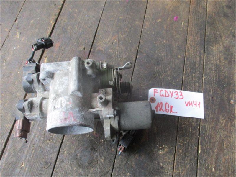 Дроссельная заслонка Nissan Cima Y33 VH41 (б/у)