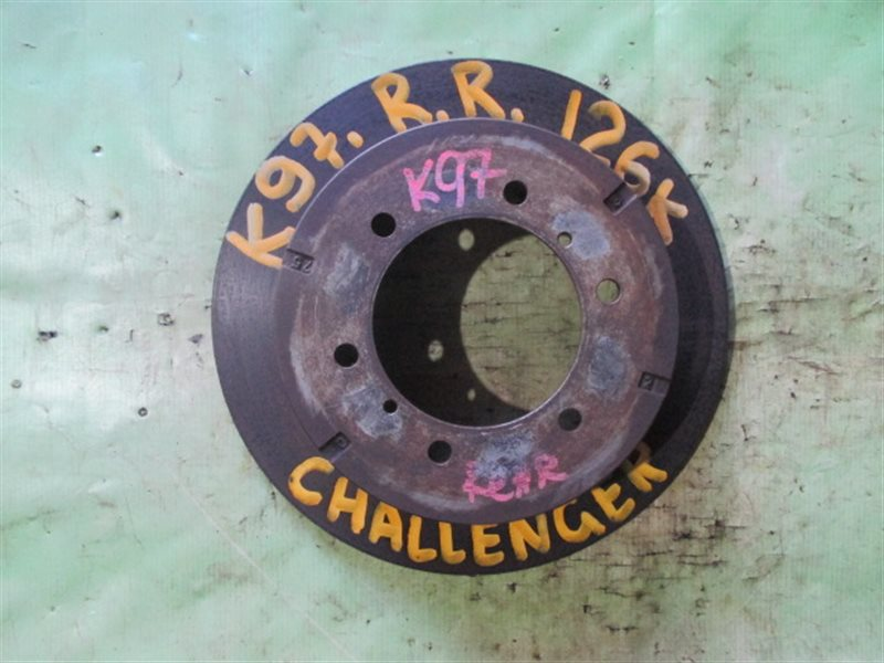 Тормозной диск Mitsubishi Challenger K97W задний правый (б/у)