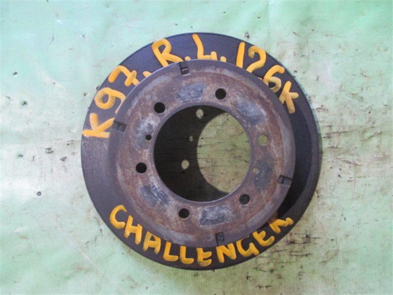Тормозной диск Mitsubishi Challenger K97W задний левый (б/у)