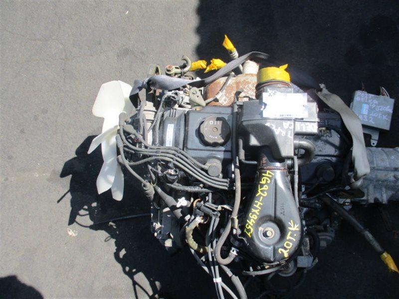 Двигатель Mitsubishi Delica P02T 4G92 (б/у)