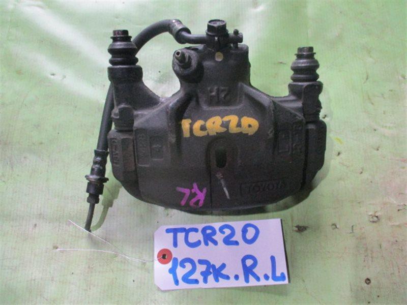 Суппорт Toyota Estima TCR20 задний левый (б/у)