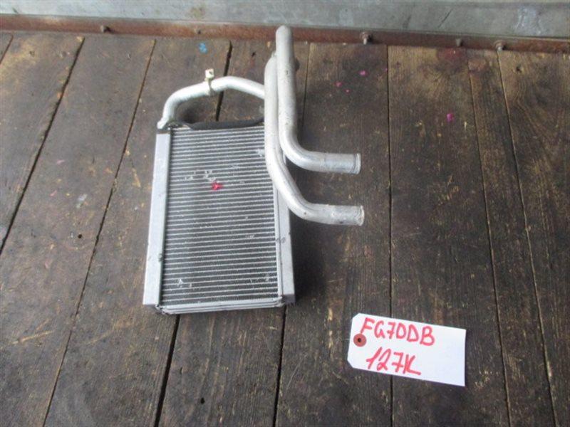 Радиатор печки Mitsubishi Canter FG70DB (б/у)