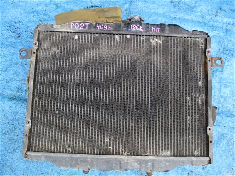 Радиатор основной Mitsubishi Delica P02T 4G92 (б/у)