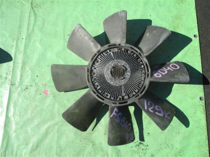 Вентилятор с вискомуфтой Mitsubishi Fuso FS510VZ (б/у)