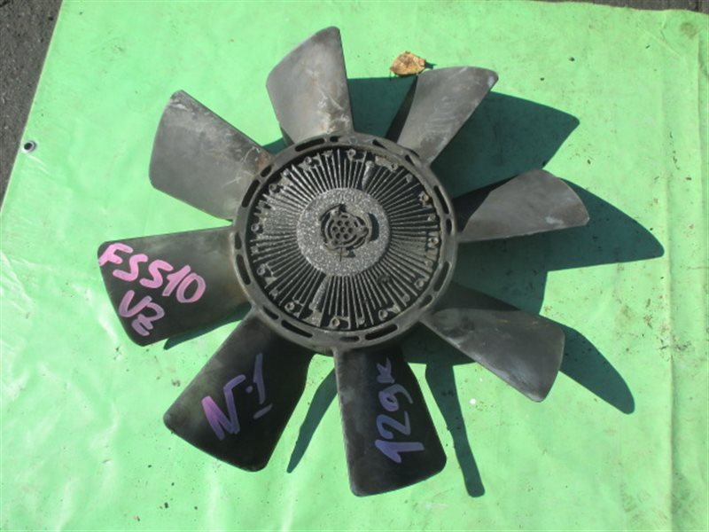 Вентилятор с вискомуфтой Mitsubishi Fuso FS510VZ (б/у) № 1