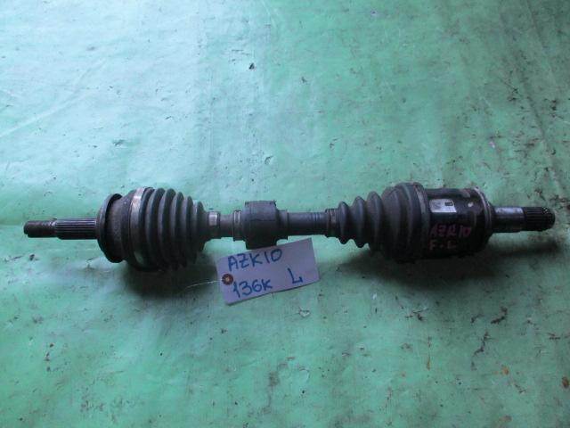 Привод Toyota Sai AZK10 передний левый (б/у)
