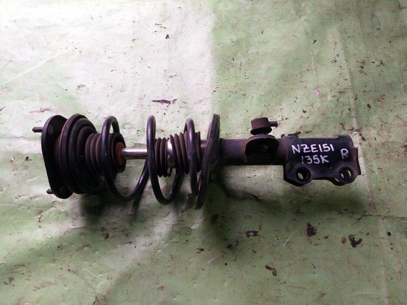 Стойка Toyota Corolla Rumion NZE151 передняя правая (б/у)