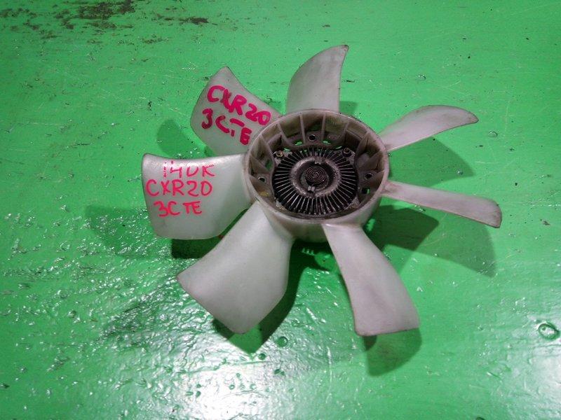 Вентилятор с вискомуфтой Toyota Estima CXR20 3C-TE (б/у)