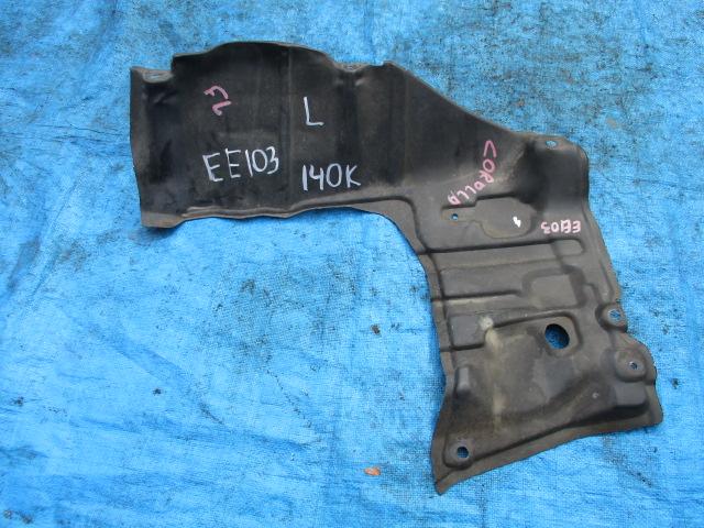 Защита двигателя Toyota Corolla EE1`03 левая (б/у)
