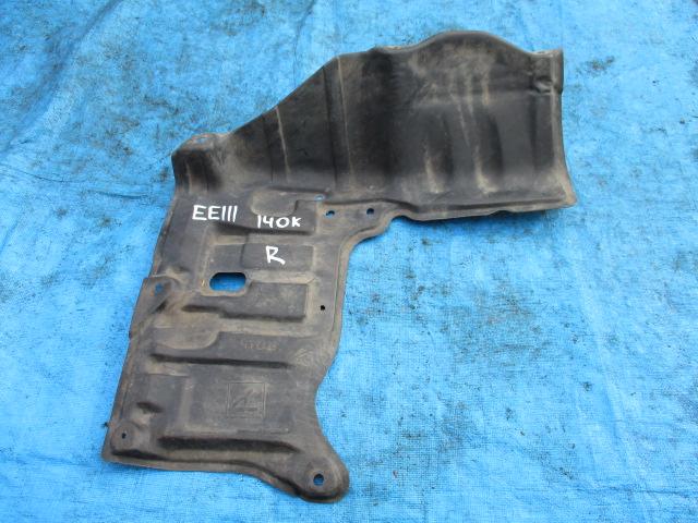 Защита двигателя Toyota Corolla EE111 правая (б/у)
