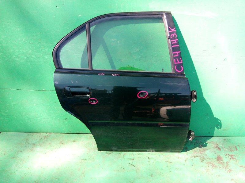 Дверь Honda Rafaga CE4 задняя правая (б/у)