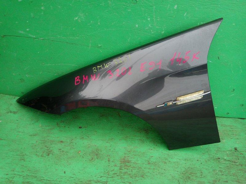 Крыло Bmw 320I E91 переднее левое (б/у)
