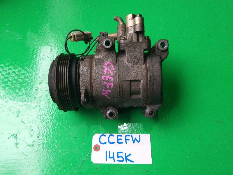 Компрессор кондиционера Mazda Biante CCEFW (б/у)