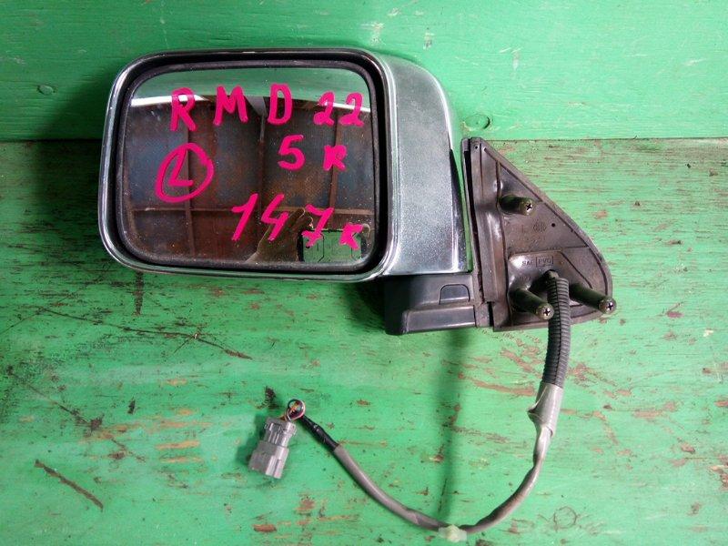 Зеркало Nissan Datsun D22 переднее левое (б/у)